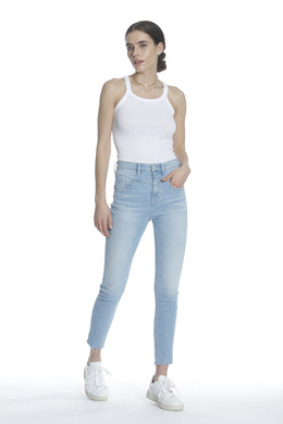 Rebel High Rise Skinny - Light Wash