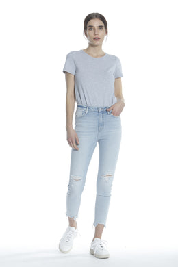 Ace High Rise Skinny - Light Wash