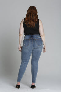 Jagger Super Skinny [Plus Size] - Dark