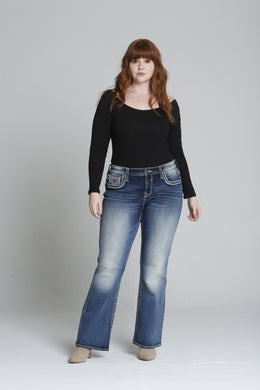 Dallas Boot Cut - Dark [Plus Size]
