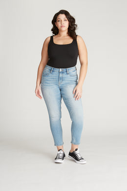 Marley Mid Rise Skinny [Plus Size] - Light