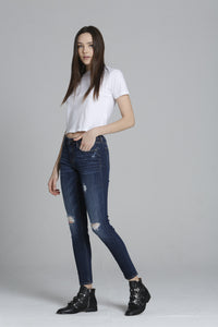 "Jagger Classic Skinny - Dark <font color=""red"">[INSEAMS AVAILABLE]</font>"
