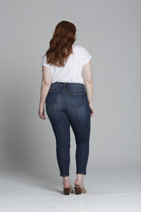 Jagger Authentic Skinny [Plus Size] - Dark