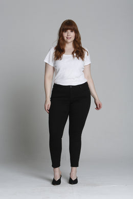 Jagger Skinny [Plus Size] - Black