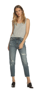 e2303e086dc Friday High Rise Tapered Boyfriend - Med