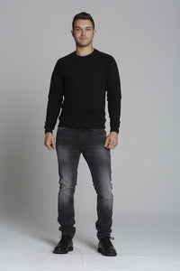 Mick 330 Slim - Black Washed