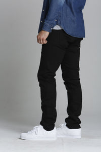 "Mick 330 Slim - Pure Black <font color=""red"">[INSEAMS AVAILABLE]</font>"
