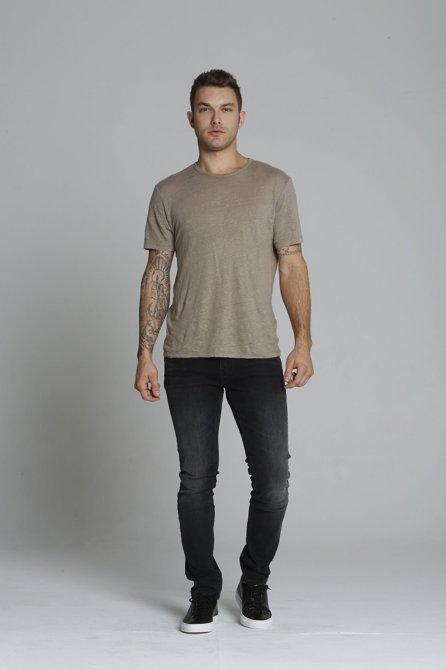 Keith 320 Skinny - Washed Black <font color=