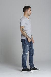"Keith 320 Skinny - Med Wash <font color=""red"">[INSEAMS AVAILABLE]</font>"