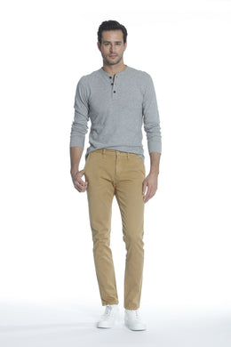 Mick 330 Slim Trouser - Dark Khaki <font color=
