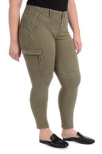 Jagger Cargo Skinny [Plus Size] - Olive