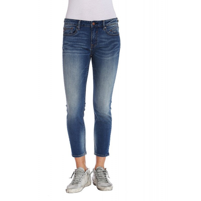 Mid Rise Skinny Crop Jagger