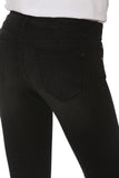 Jagger Exagerrated Hem Straight - Black