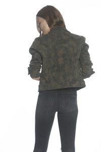 Denim Jacket - Camo