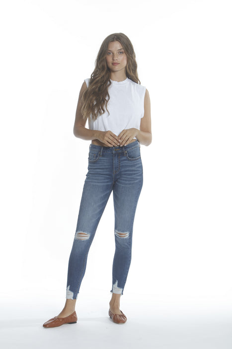 Marley Mid Rise Skinny - Med