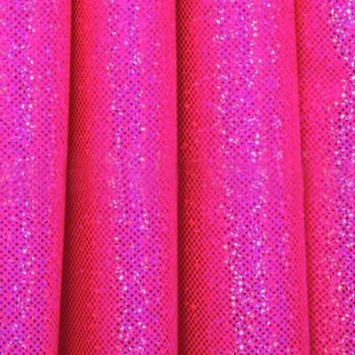 Holo Hot Pink Fabric
