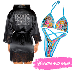 Donut Figure Posing Suit + Toxic Angelz Robe Bundle