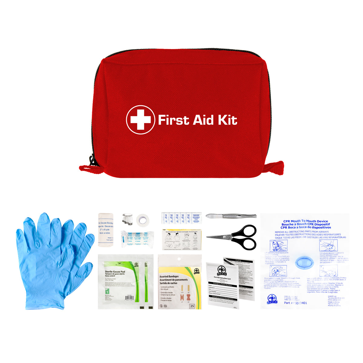 Personal First Aid Kit - Redi-Medic