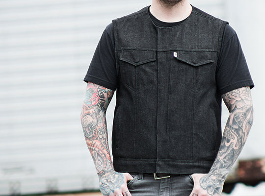 Men's Denim Vests