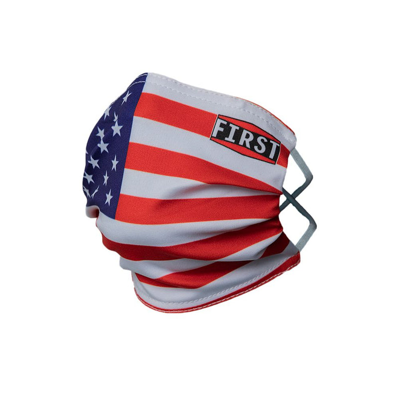 Red White & Blue Face Mask (5pcs pack)