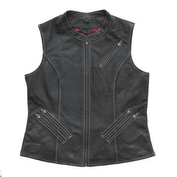 Quinn Leather Vest - (Limited Edition)