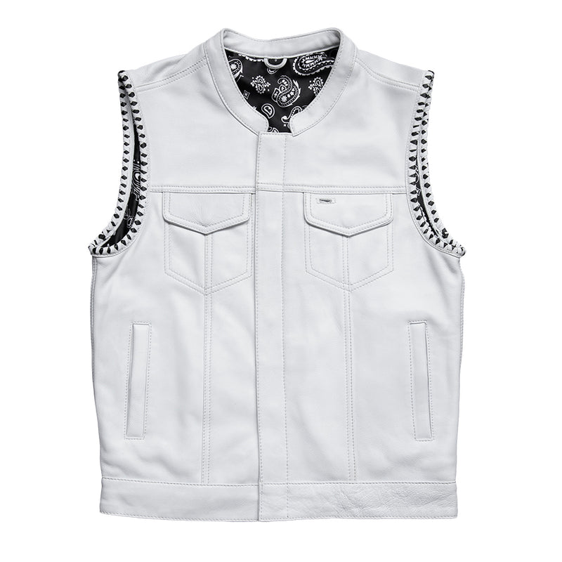 Bishop - Men's Club Style Leather Vest (Limited Edition)