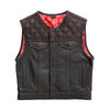 Nova Lowside - Men's Club Style Leather Vest (Limited Edition)