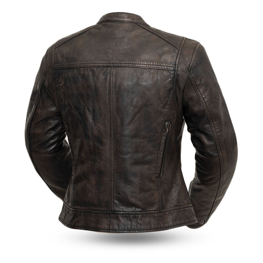 Trickster - Women's Leather Motorcycle Jacket