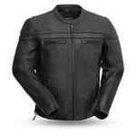 The Maverick - Men's Motorcycle Leather Jacket