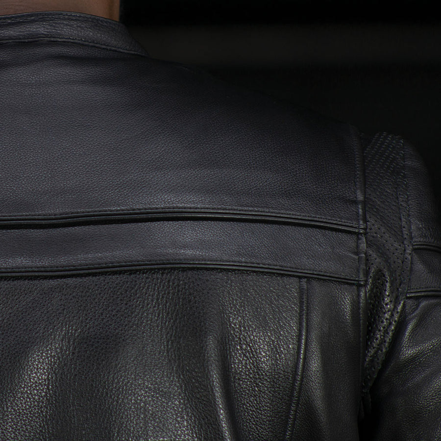 The Maverick - Motorcycle Leather Jacket