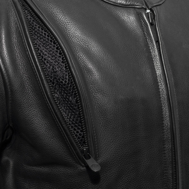 The Revolt - Men's Motorcycle Leather Jacket