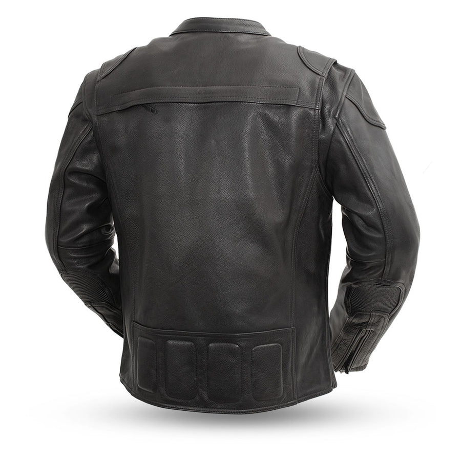 Nemesis - Men's Leather Motorcycle Jacket
