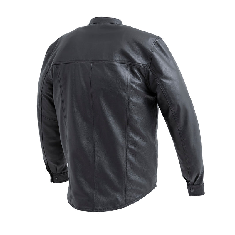 Vigilante - Men's Leather Shirt