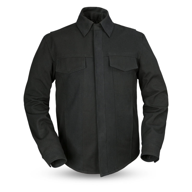 The Mercer - Men's Motorcycle 20oz. Canvas Shirt