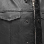 The Blaster - Men's Motorcycle Leather Vest