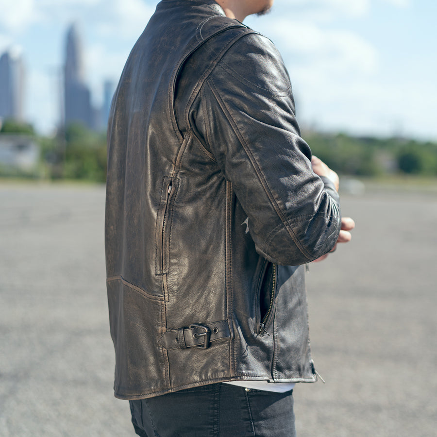 Indy - Men's Motorcycle Leather Jacket