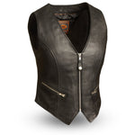 Montana - Women's Motorcycle Leather Vest