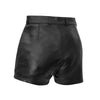 Maleni - Women's Leather Shorts