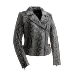 Python - Women's Fashion Leather Jacket