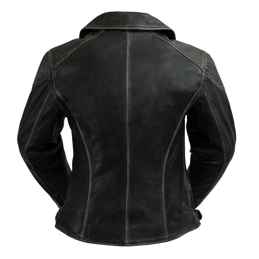 Stephanie - Women's Leather Jacket