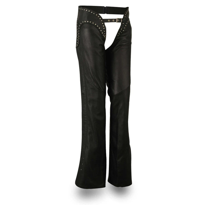 Riser - Women's Motorcycle Leather Chaps