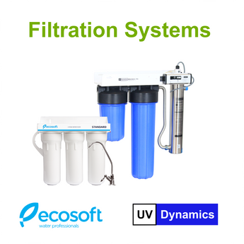 Reverse Osmosis, UV Disinfection Systems, Integrated Disinfection Systems