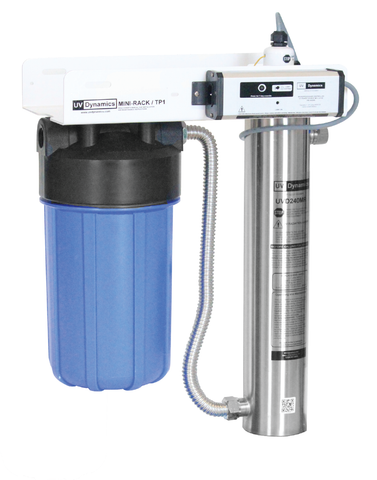 h20parts2go UV Dynamics,Integrated Water Filtration System,10'',1,UVD 320E,4.5'' x 10'',10gpm or (37L/min) ,MR320E-TP1/100