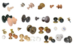 Cabinet and Mortice Knobs