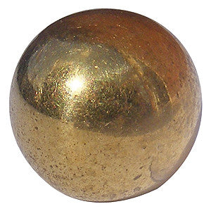 1001 bed knob finial in brass - ABC Ironmongery