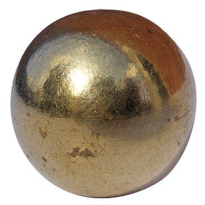 1002 bed knob finial in brass - ABC Ironmongery