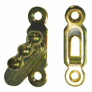 1026 showcase catch in brass - ABC Ironmongery