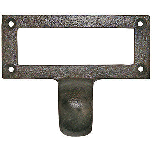 1035 cast iron card holder frame - ABC Ironmongery