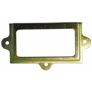 1037 brass card holder frame - ABC Ironmongery