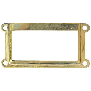 1039 brass card holder frame - ABC Ironmongery